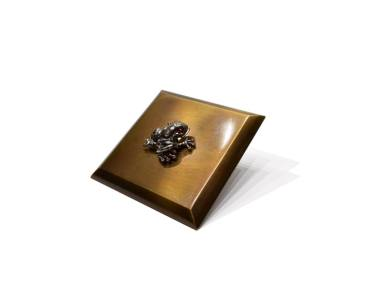 Jewel Frog argento e zaffiri