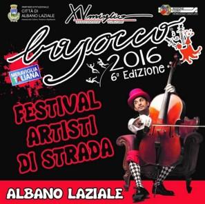 00 Locandina del Bajocco Festival Artisti di Strada 2016