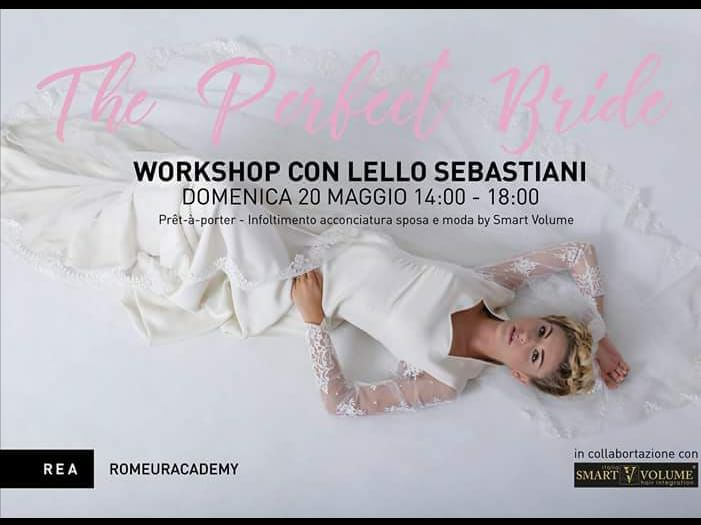 Workshop  Parrucco con Lello Sebastiani