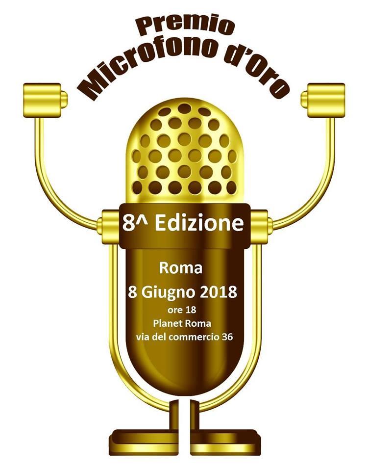Microfono d'Oro: l'8 giugno VIII edizione dell'Oscar della radiofonia