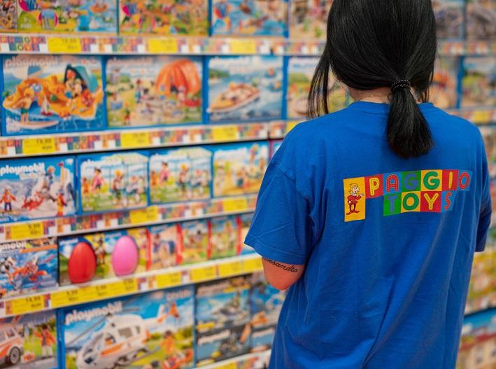 Vita di imprese a Napoli, Paggio Toys celebra i 40 anni d'attività