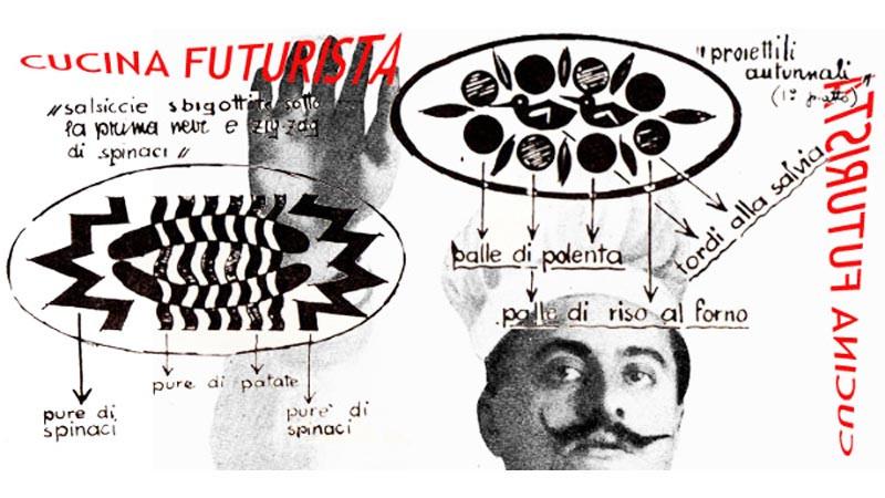 Filippo Cogliandro e la sua Cena Futurista
