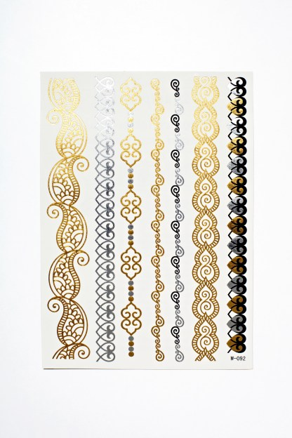Flash Tattoos - Hauch des Ostens