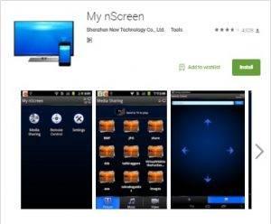 my nscreen