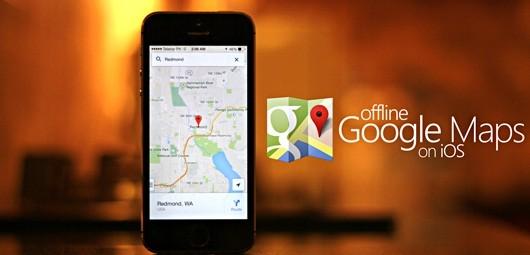 offline map iphone