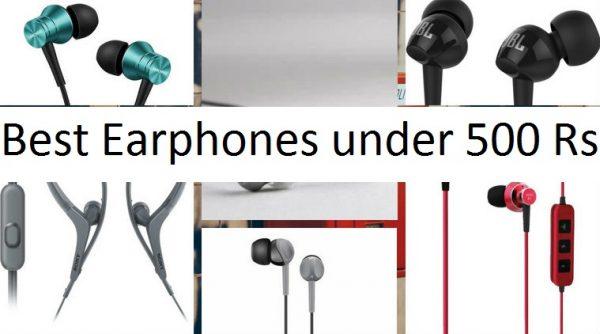 Best Earphones under 500 Rs