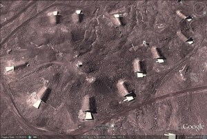 Kahlili: GoogleEarth 12-2012 image, missile silos, the size suggests large ballistic missiles such as Shahab 3 or the North Korean Taepodong II (ICBMs)Read more at http://www.wnd.com/2013/03/revealed-evidence-iran-crossed-nuclear-red-line.