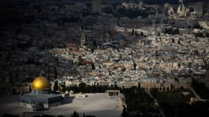 Is the Obama administration trying to divide Jerusalem?