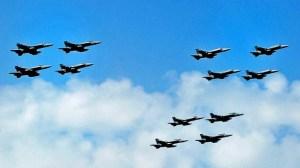 fighterjets-USoverMed2009