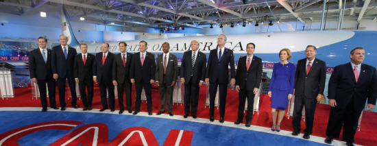 The GOP presidential candidates at a debate held at the Reagan Library. Do they understand the threats we face?
