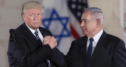 Trump-Bibi-IsraelMuseum