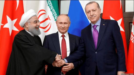Putin-Rouhani-Ergodan