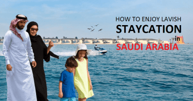 Lavish Weekend Staycation in Saudi Arabia
