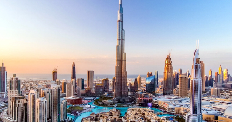 Burj Khalifa Man-Made Tourist Attraction