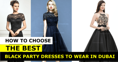 Black Party Dress in Dubai