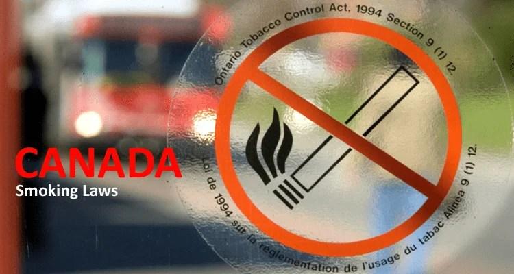 Canada Smoking Laws