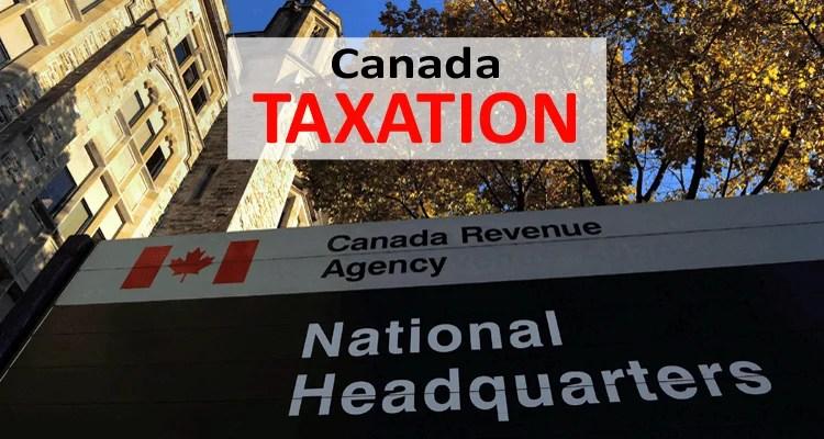 Canada Taxation