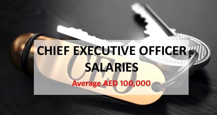 Chief Executive Officer CEO Salary Dubai