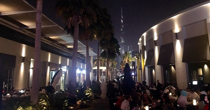 City Walk Dubai Nightlife