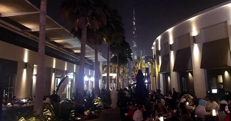 City Walk Dubai Nightlife