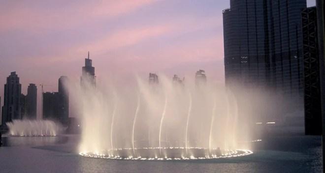 Dubai Dancing Fountains