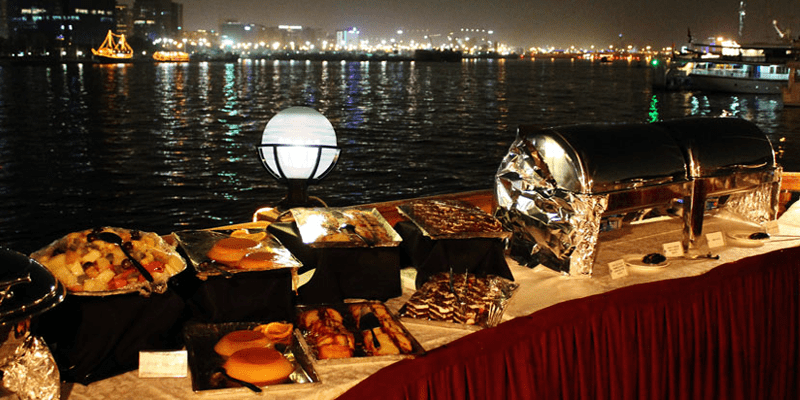 Dubai Dhow Cruise Buffet Dinner