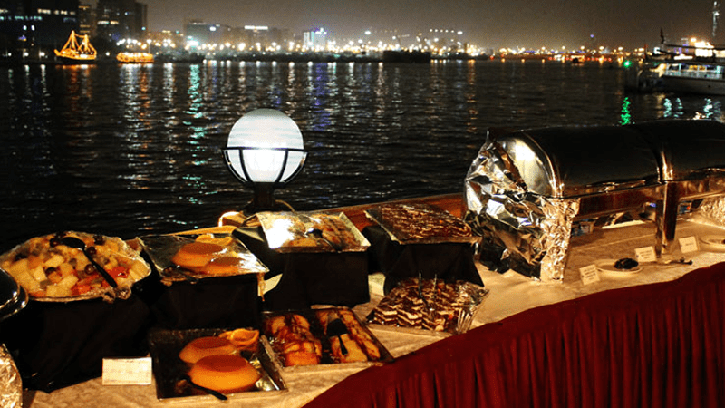 Dinner at Dhow Cruise Dubai