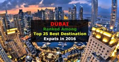 Dubai best expat Destination