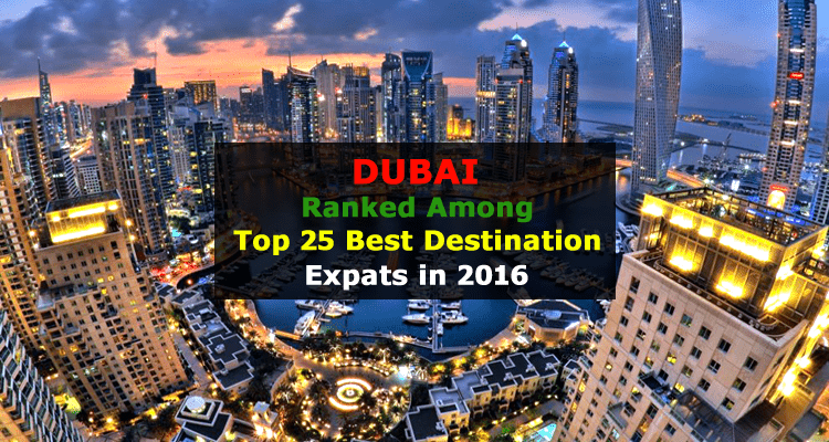 Dubai best expat Destination