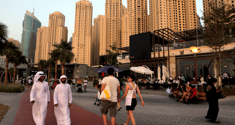 Expats in Dubai