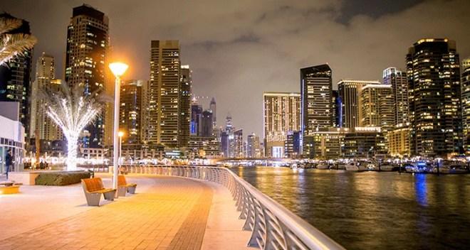 Dubai Marina at JBR