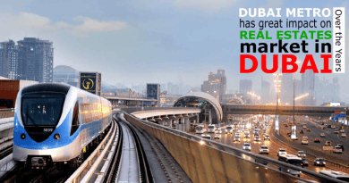 Dubai Metro impact on Real Estate