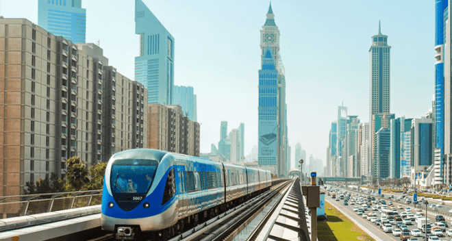 Properties near Dubai Metro