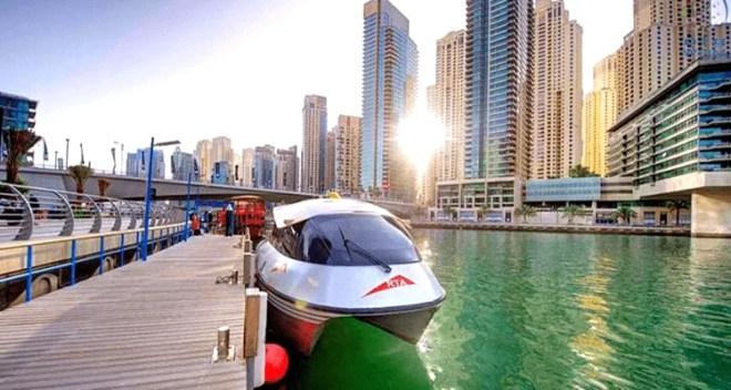 Dubai Water Canal Pedestrian Path