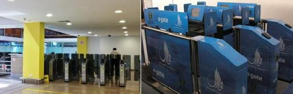 e-gates at dubai airport