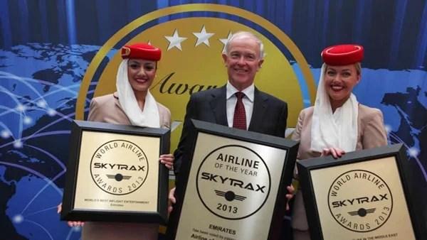 Emirates Airlines worlds best airline 2013