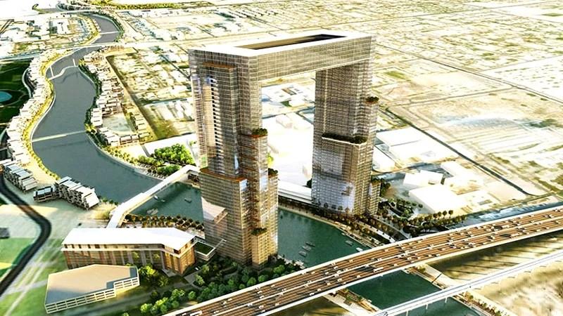 dubai water canal project jumeirah
