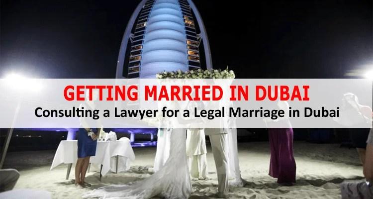 Getting Married in Dubai