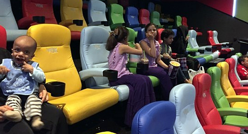 Kids Cinema in Dubai