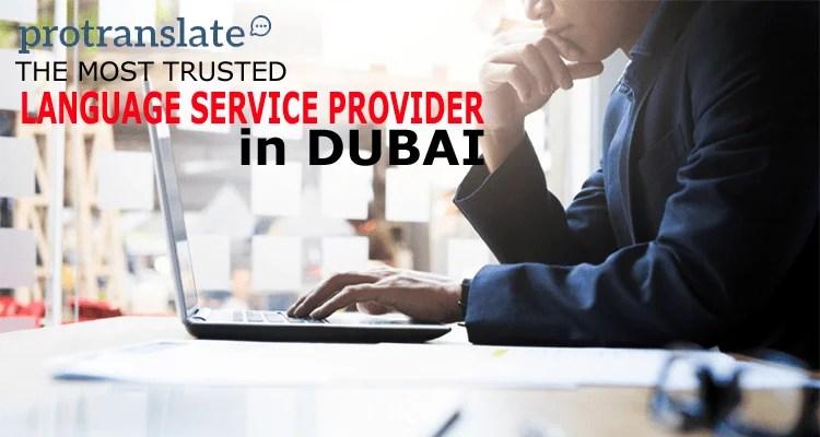 Language Service Provider in Dubai