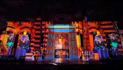 light and sound show at wafi dubai