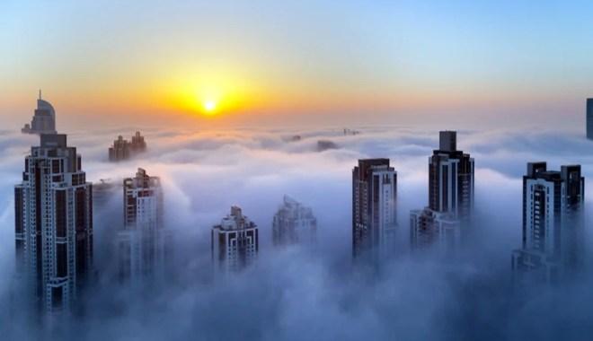 living in sky