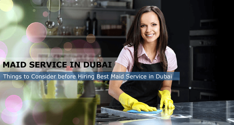 Maid Service in Dubai