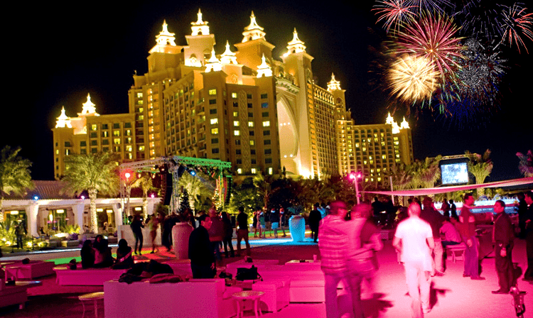 Nasimi Beach New Year Fireworks