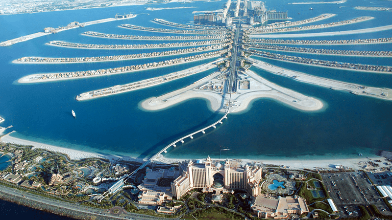 The Palm Islands Dubai