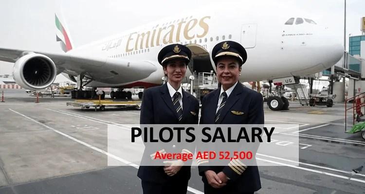 Pilot Salary in Dubai