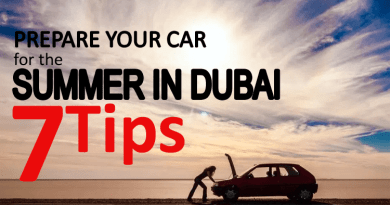 Prepare Car Summer in Dubai