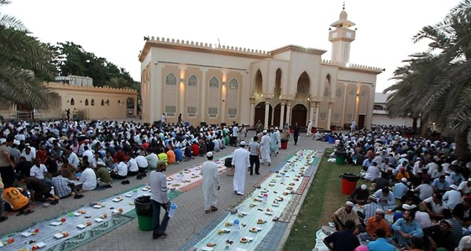Month of Ramadan in Dubai