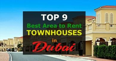 Rent Townhouses in Dubai