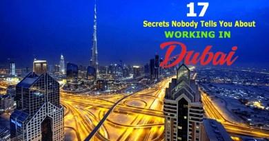 Working in Dubai